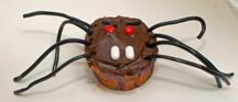 mean spider cupcake