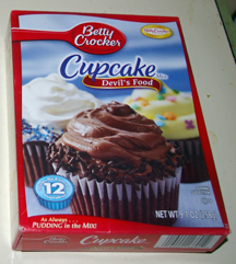 Betty Crocker Devil's Food cupcake mix
