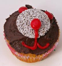 Bear face cupcakes