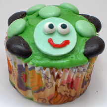 easy turtle cupcake