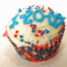 Inauguration cupcake