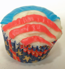 Obama cupcake