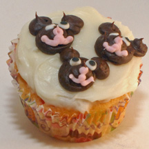 3 Bears cupcake