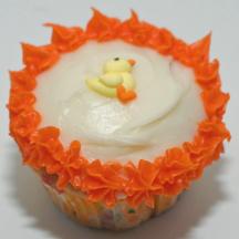 Rubber ducky cupcake