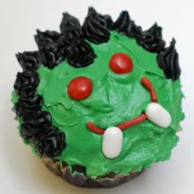 Dracula cupcake