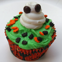 Little ghost cupcake