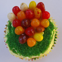 Thanksgiving corn cupcake