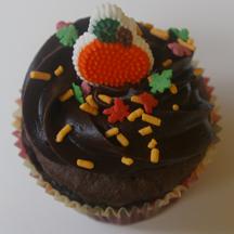 pumpkin cupcake